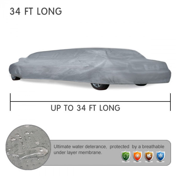 UP TO 34 FT LONG LIMO COVERS for